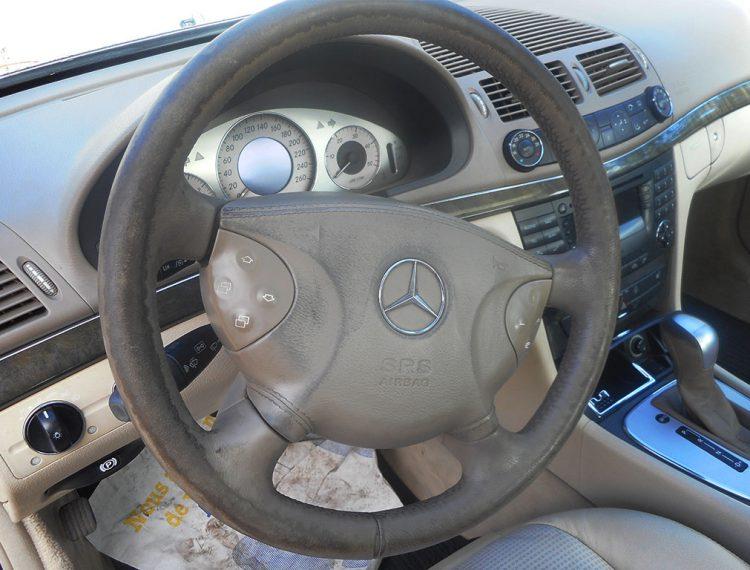 Renovation volant voiture cuir