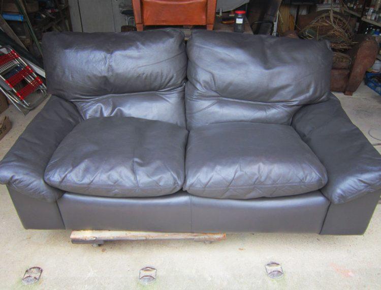 Changement de couleur canapé en cuir