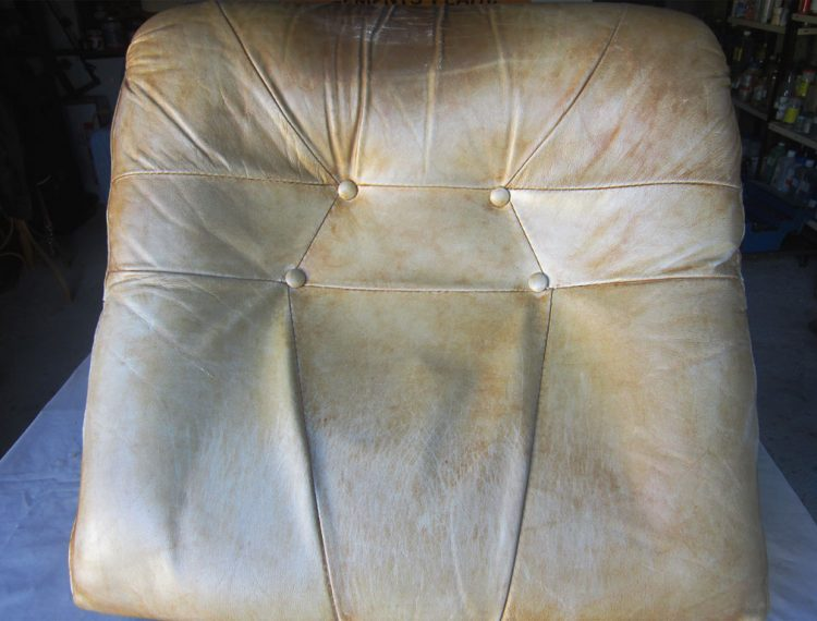 Restauration canapé en cuir