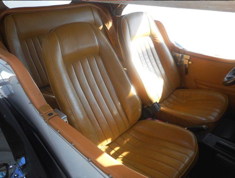 Restauration sieges voiture en cuir