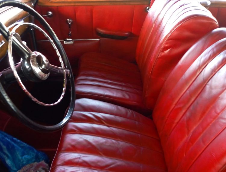 Renovation siege voiture en cuir
